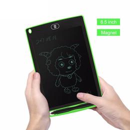 """benutzerdefinierte buchstaben zeichen Rabatt 8,5 zoll LCD Schreibtafel Zeichnung Tablet Papierlose Digital Notizblock Umgeschrieben Pad für Zeichnen Hinweis Memo Erinnern Nachricht 8,5 """""""