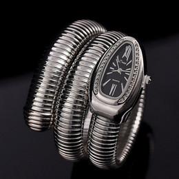 Horloges à la mode en Ligne-Cool Serpent Bracelet Montres Femmes De La Mode Infinity Bracelet Montre Vogue Filles Marque Horloge À Quartz Religios Reloj Montre Femme NW404 Y1890304