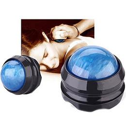 Supporto in resina online-XC Massage Roller Ball Body Massger Resina Massaggio Ball Muscle Relaxer a piedi Spalla posteriore Attrezzature per il fitness gamba