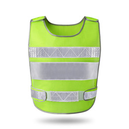 Wholesale orange process - reflective vest automobile annual construction process of fluorescent clothing vest safety protective coat
