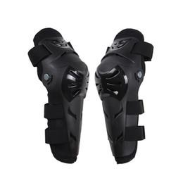 Rodilleras motocicleta codo rodilleras online-Nuevo 4 Unids EVA Ajustable Codo Rodilla Armadura Guardia Almohadillas Protector Protector Codo de Rodilla para Motocross Deportes Motocicleta Moto