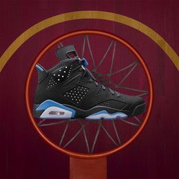 Wholesale Box Culture - (with box) Men 6 6s Basketball Shoes UNC 3M Black cat Maroon Carmine Infrared 23 Oreo High quality womens sport Sneakers eur 36-47