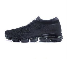 Wholesale Open Toe Fashion Shoe - 2018 New Arrival Men VaporMaxes Shock Racer Running Shoes For Top quality Fashion Casual Vapor Maxes Sports Sneakers Trainers