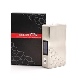 Cigarette smokjoy en Ligne-Vente en gros Smokjoy TALOS 70W boîte mod contrôle de la température Talos Mod cigarette électronique 18650 vape mods livraison gratuite
