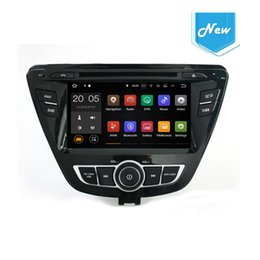 Wholesale Dvd Canbus - 8inch Android 6.0 7.1 4+32GB Car DVD Player GPS Navigation for Hyundai Elantra 2014 with Radio BT USB AUX Camera Map Canbus.
