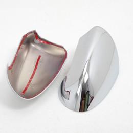 Canada ABS chromé côté porte rétroviseur couverture garnitures accessoires de voiture 2pcs fit pour Nissan Qashqai 2007-2013 Offre