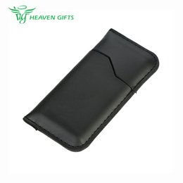 Wholesale Electronic Cigarette Covers - 100% Original Dustproof Leather Cover for Suorin Air Healthy material Electronic cigarette Spare Parts Leather Cover