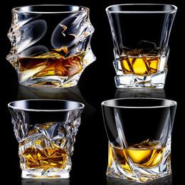 2020 occhiali da cristallo Cristallo Creative Whisky Shot Bicchieri Bicchiere Bicchiere da Cocktail Bicchiere Bicchiere da Birra Addolcente senza piombo occhiali da cristallo economici