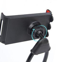 2019 halterung mehrere telefone Universal-Handy-Halter-fauler hängender Hals-Stand steht DIY frei drehende Halterungen mit mehrfacher Funktion Opp-Paket STY068 günstig halterung mehrere telefone