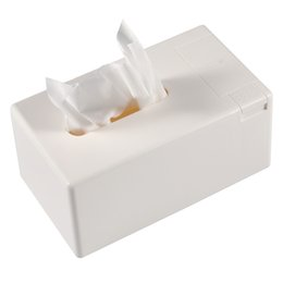 box toothpicks Promo Codes - Removable Tissue Roll Paper Tissue Box Home Bathroom Car Box Container Napkin Log Holder with Toothpick Dispenser
