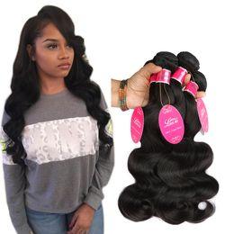 Wholesale brazillian natural wave hair - Mink Brazillian Body Wave Hair Bundles Unprocessed Grade 8A Brazilian Virgin Hair Body Wave Cheap Brazilian Body Wave Human Hair Extension