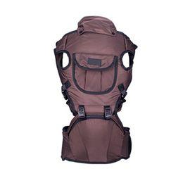 Fissure frontale en Ligne-Porte-bébé Face à l'avant Porte-bébé Sling Sac à dos confortable Pochette Wrap Kangaroo Hipseat Sling Sac à dos