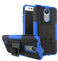 Venda quente 5.0 polegada para lg k8 2017 caso heavy duty armor à prova de choque de borracha de silicone phone case capa de Fornecedores de venda capa de telefone de silicone