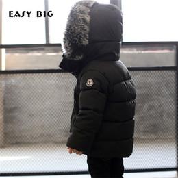 Piumino per bambini caldo inverno con cappuccio GRANDE EASY BIG per bambini Unisex Parka Giacca per bambini CC0111 da