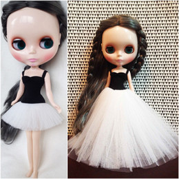 Wholesale Western Dresses For Girls - 1pcs Blyth Doll Dress Ballet Clothes for Blyth Doll Girls Toy Gift