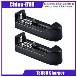 Chargeur de cigarette électronique universel en Ligne-18650 Chargeur de batterie Chargeur universel à une fente pour batterie Li-ion rechargeable VTC5 18650 Chargeurs Nitecore I4 I2 E-Cigarettes