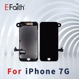Caméra frontale iphone blanc en Ligne-Qualité supérieure pour iPhone 7 Balck / White Display LCD avec remplacement de convertisseur analogique-numérique à écran tactile + caméra frontale Livraison DHL gratuite