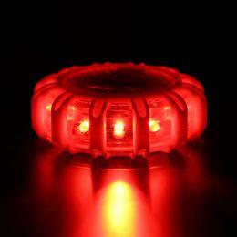 Argentina Mini 12 * LED Flare de seguridad de emergencia Red Road Flare Imán intermitente Advertencia Night Lights Borde de carretera Beacon supplier red warning light Suministro