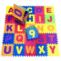 26 PC Combo Bébé EVA Mousse Puzzle Tapis De Jeu Alphabet Enfant Tapis De Rampage Tapis Jouets Tapis Interlock Carreaux De Sol 30X30X1 ? partir de fabricateur