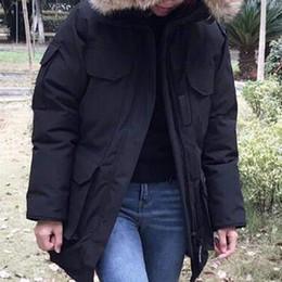 Wholesale Luxury Duck - Fashion Winter Down Long Parka Men's Warm Jacket Luxury Designer Male Hooded Coat Brand Jackets for Men Parkas Plus Size High Quality