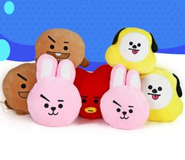 "Wholesale Boys Plush Toys - EMS New 8 Styles 11""*15"" 28CM*38CM KPOP BTS Bangtan Boys Plush Doll Anime Collectible Stuffed Dolls Pillows Cushions Gifts Soft Toys"