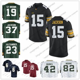 Wholesale Scott Red - Iowa Hawkeyes 15 Josh Jackson 37 Black 23 Jaire Alexander JK Scott J'Mon Moore Green White Stitched 2018 Draft College Football Jersey S-3XL