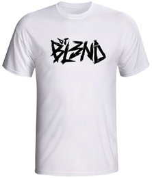 485ad7046 Dj Bl3nd Blend shirt rave electric dubstep Short Sleeve T-Shirt New Top  Tees Style Fashion Men T Shirts 100% Cotton Classic