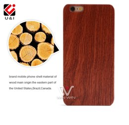Wholesale Case Personalize - DIY LOGO Customized Wood Phone Case for iPhone 5S 6 6Plus 7 7PLus Blank Wooden Mobile Phone Back Cover Protector Cover Photo Personalized
