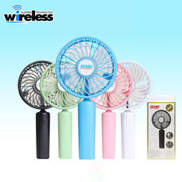 Wholesale Personal Fans - Hand Mini usb Fans Battery Operated Rechargeable 1500mah Handheld Electric Personal Fans Hand Bar Desktop Fans