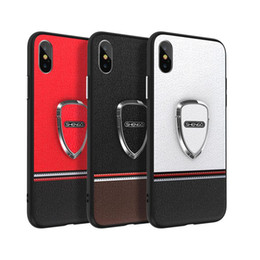 Wholesale Mobile Cover Back Paintings - Luxury branded painted mobile phone case for iphone X 6 6S 7 7plus TPU + PC hard back cover for iphone 8 8plus