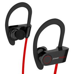 Canada Pour Gym Running Bluetooth Écouteurs Sans Fil Rétractable Neckband Écouteurs HD Stéréo Sweatproof Écouteurs Annulation de Bruit Casque Offre