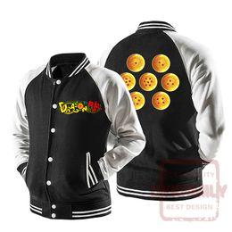 Wholesale dragon ball jacket - Dykhmily Dragon Ball Z Jacket Jeans Men Hooded Vegata Windbreaker Jacket Anime Cloth 2017 New Design Goku Baseeball Jacket