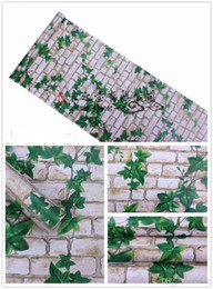 Canada Eau Preuve Mur Carrelage Papier Autocollant Vert Fonds D'écran Briques Feuille Autohésion Salon Hôtel Salle De Bains Balcon Décor À La Maison 12 7jb ii Offre