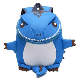3D Dinosaur Backpack For Boys Zaini per bambini bambini scuola materna Piccola scuolaBag Girls Animal School Bags Backpack da