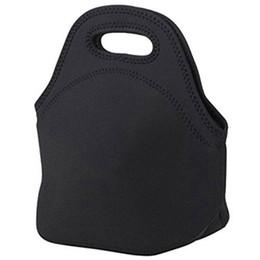 Mini sac à lunch en caoutchouc Sacs à lunch Sac isotherme, Sac fourre-tout noir ? partir de fabricateur