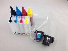 Usato hp online-Sistema di alimentazione continua di inchiostro CISS di alta qualità per 122 utilizzi per Deskjet 1000 1050 2000 2050 3000 3050A