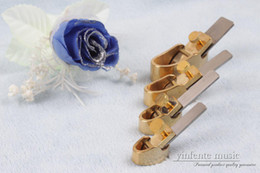 Riparazione dell'ottone online-4x Piano in ottone convesso fondo liutaio strumento di riparazione installare violino strumenti di chitarra in stile tedesco