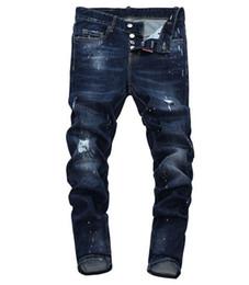 jeans di alta qualità Sconti Jeans di alta qualità in stile europeo, serie di moda maschile di alta gamma, moda per uomo, nuovo stile alla moda.014
