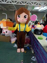 Wholesale Lollipops Costumes - Sweetheart girl Lollipops Mascot Costume Lovely pig mascot costume