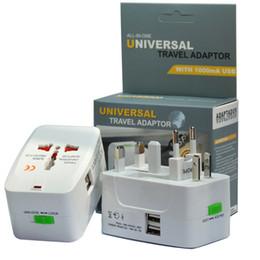 Canada Adaptateur international universel multifonctionnel de chargeur de voyage de monde d'adaptateur de voyage avec AU US UK convertisseur d'UE Plug avec USB Offre