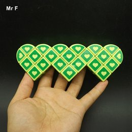 Wholesale Heart Strange - Collection Cube 1x3x3 Triple Heart By Heart Strange Puzzle Cube Intelligence Brain Teaser Twist Toy Gift Logic Game Adult