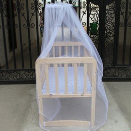 Wholesale Princess Kids Bedding - Summer Baby Bed Portable Cradle Mosquito Net Newborn Infant Toddler Polyester Bedding Tents Princess Mesh Kids Crib Netting