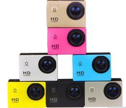 Medidor de dv online-Nuevo envío gratuito SJ4000 freestyle 2 pulgadas LCD 1080 P cámara de acción Full HD HDMI 30 metros impermeable DV cámara casco deportivo SJcam DVR00