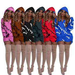 0d83889117a46 Women Autumn Hoodies Champions Design Hooded Casual Pullovers Long Sleeve  Tops Spring Sweater Coat Winter Loose Sweatshirts Trendy Dress New  inexpensive ...