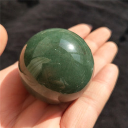 Wholesale Green Crystal Sphere - 40 mm beautiful natural green aventurine stone crystal ball crystal sphere home decoration crystal healing gift