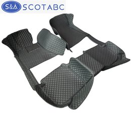 Wholesale fitted floor mats - SCOTABC All Weather Leather Car Floor Mats Toyota C-HR 2017-2018 Custom-Fit Waterproof Anti-slip 3D Front & Rear Carpet