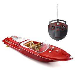 2019 barcos elétricos para crianças JMT Flytec HQ2011-1 27 MHz 2CH 15 km / h de Alta Velocidade Do Barco Elétrico barco RC barco de Controle De Rádio Barco Lancha RC Brinquedos para Presentes para Crianças barcos elétricos para crianças barato