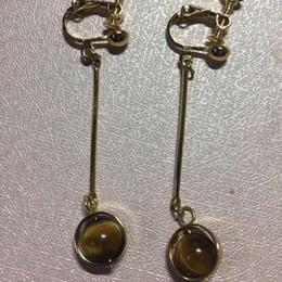 Wholesale Blue Moonstone Earrings - 18 2018 New fashion design natural stone cute beauty retro earring earrings earrings with ear-piercing ears.