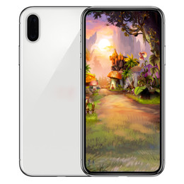 Wholesale Face India - Unlocked phone Goophone X iX i8 plus 5.5inch 1GB RAM 4 ROM Show 4G lte Quad Core MTK6580 face id cell phones