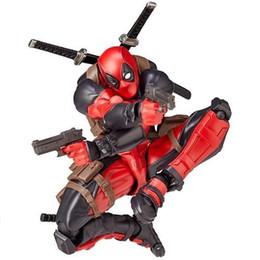 Quente! Ação louco Brinquedos Deadpool PVC Figura Collectible Toy Model (Cor: vermelho) (Cor: vermelho) de Fornecedores de homem de boneca vermelha